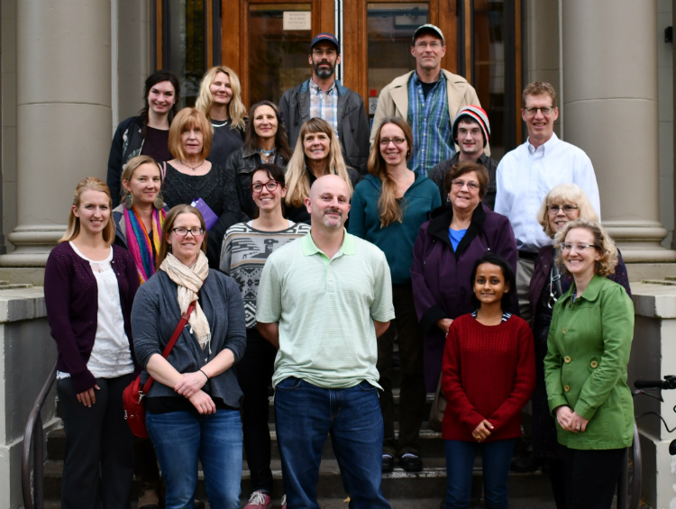 Participants in fall seminar