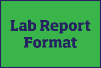 Microbiology Lab Report Format